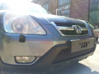Защита радиатора Honda CR-V II 2002-2004 black