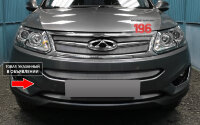 Защита радиатора Chery Tiggo 5 2014-2016 chrome низ